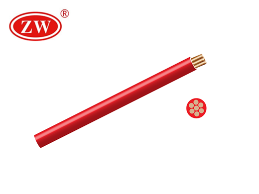 House Wire Red 4mm