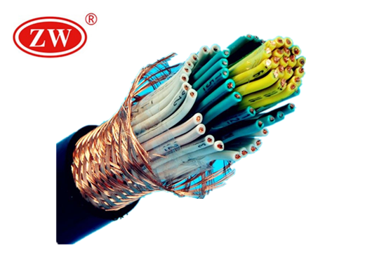 Multi Core Flexible Braid Shield Cable