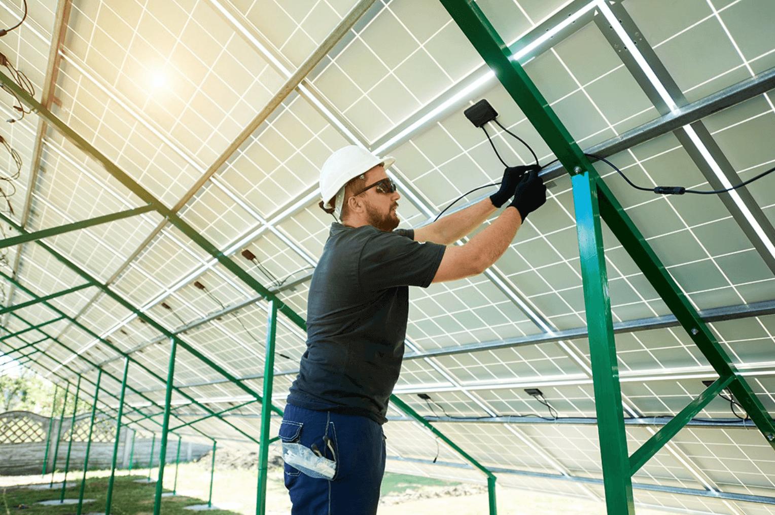 solar panel wire